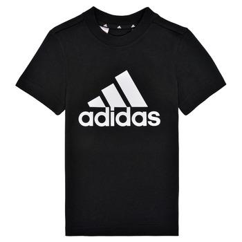 Kleidung Jungen T-Shirts adidas Performance B BL T Schwarz