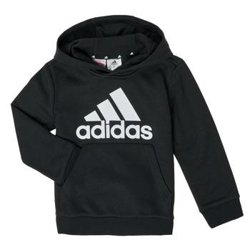 Kleidung Jungen Sweatshirts adidas Performance B BL HD Schwarz