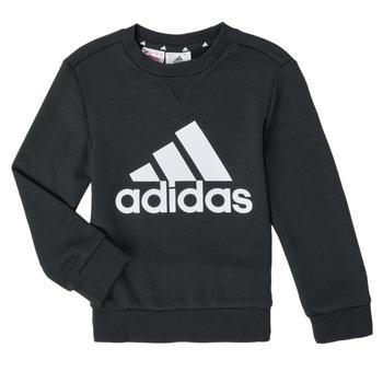 Kleidung Jungen Sweatshirts adidas Performance B BL SWT Schwarz