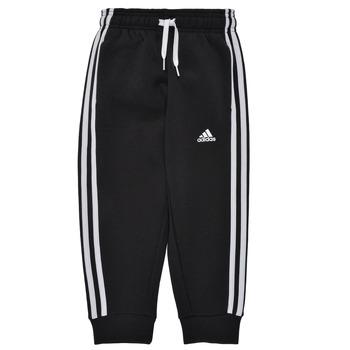 Kleidung Jungen Jogginghosen adidas Performance B 3S FL C PT Schwarz
