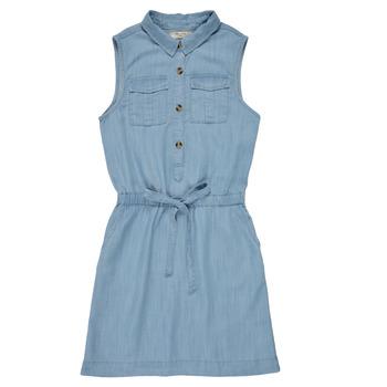 Kleidung Mädchen Kurze Kleider Deeluxe LALI Blau