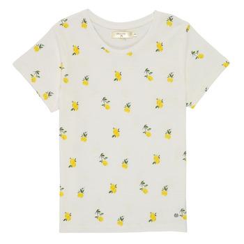Kleidung Mädchen T-Shirts Deeluxe NADY Weiss