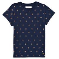 Kleidung Mädchen T-Shirts Deeluxe MAYA Marine