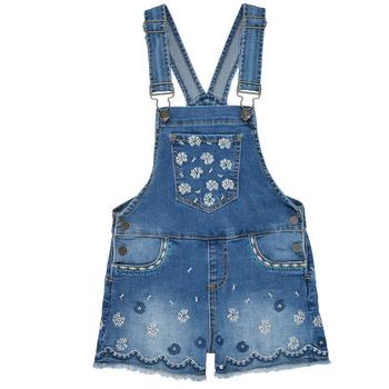 Kleidung Mädchen Overalls / Latzhosen Desigual 21SGDD04-5053 Blau