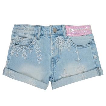 Kleidung Mädchen Shorts / Bermudas Desigual 21SGDD05-5010 Blau