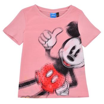 Kleidung Mädchen T-Shirts Desigual 21SGTK43-3013 Rose