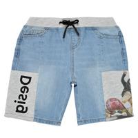 Kleidung Jungen Shorts / Bermudas Desigual 21SBDD02-5053 Blau