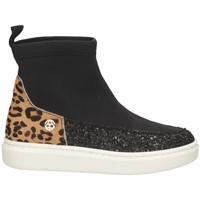 Schuhe Mädchen Sneaker High Florens K26842-2 SCHWARZ