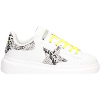 Schuhe Mädchen Sneaker Low Shop Art SA040015 Sneaker Kind WEISSSILBER WEISSSILBER