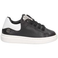 Schuhe Mädchen Sneaker Low Florens J168236V SCHWARZES SILBER