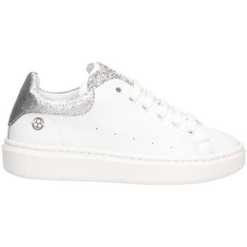 Schuhe Mädchen Sneaker Low Florens K268236A WEISSSILBER