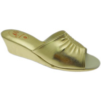 Schuhe Damen Pantoffel Milly MILLY1805oro blu