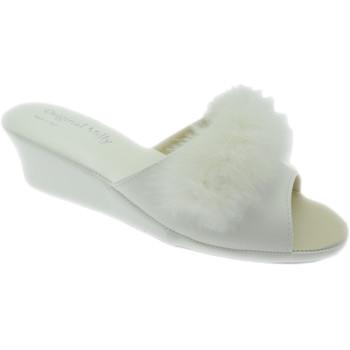 Schuhe Damen Pantoffel Milly MILLY102bia bianco
