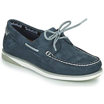 Schuhe Herren Bootsschuhe Timberland ATLANTIS BREAK BOAT SHOE Blau