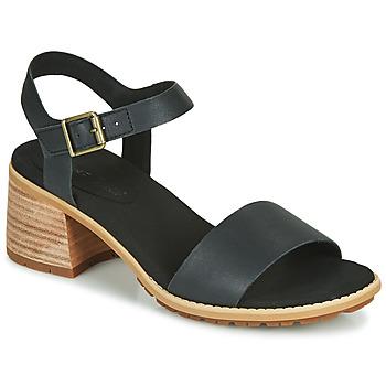 Schuhe Damen Sandalen / Sandaletten Timberland LAGUNA SHORE MID HEEL Schwarz