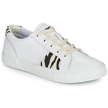 Schuhe Damen Sneaker Low Timberland SKYLA BAY OXFORD Weiss