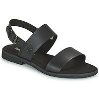 Schuhe Damen Sandalen / Sandaletten Timberland CHICAGO RIVERSIDE 2 BAND Schwarz