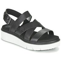 Schuhe Damen Sandalen / Sandaletten Timberland SAFARI DAWN FRONT STRAP Schwarz