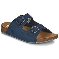 Schuhe Kinder Pantoffel Timberland CASTLE ISLAND SLIDE Blau