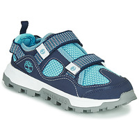 Schuhe Kinder Sandalen / Sandaletten Timberland TREELINE FISHERMAN Blau