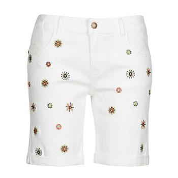 Kleidung Damen Shorts / Bermudas Desigual GRECIA Weiss