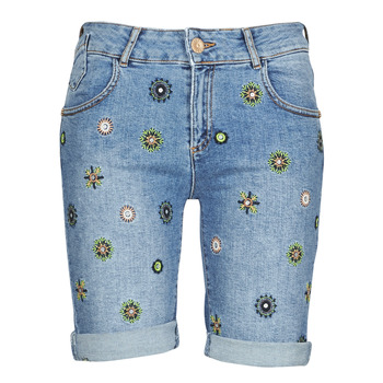 Kleidung Damen Shorts / Bermudas Desigual GRECIA Blau