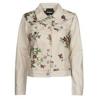 Kleidung Damen Jeansjacken Desigual BRILLIGRIN Rose