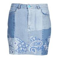Kleidung Damen Röcke Desigual BE BLUE Blau