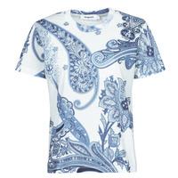 Kleidung Damen T-Shirts Desigual POPASLEY Blau