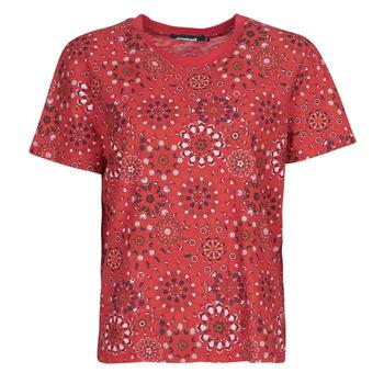Kleidung Damen T-Shirts Desigual LYON Rot