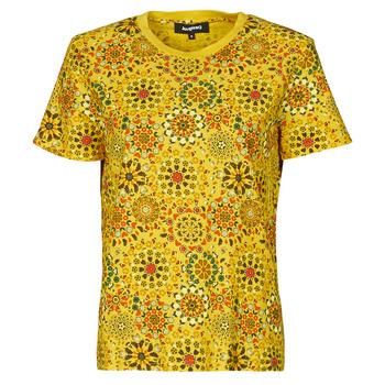 Kleidung Damen T-Shirts Desigual LYON Gelb