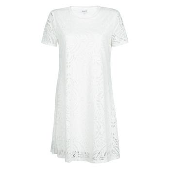 Kleidung Damen Kurze Kleider Desigual NILO Weiss