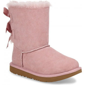 Schuhe Kinder Stiefel UGG T bailey bow ii Rose