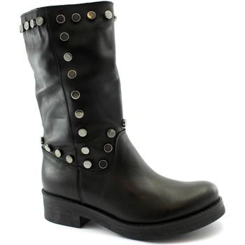 Schuhe Damen Klassische Stiefel Divine Follie DIV-I20-1425-NE Nero