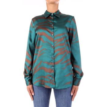 Kleidung Damen Hemden Vicolo TW0796 Grün Braun