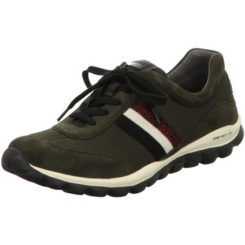 Schuhe Damen Sneaker Low Rollingsoft By Gabor Schnuerschuhe 56.966.35 grün