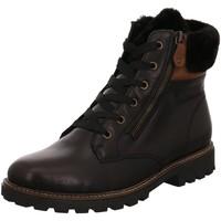 Schuhe Damen Schneestiefel Remonte Dorndorf Stiefeletten D8463-01 schwarz