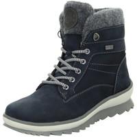 Schuhe Damen Schneestiefel Remonte Dorndorf Stiefeletten R8477-14 blau