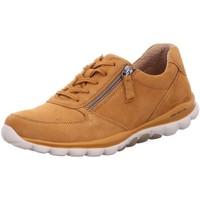 Schuhe Damen Sneaker Low Rollingsoft By Gabor Schnuerschuhe 56.968.33 braun