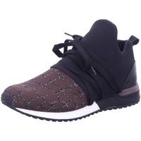 Schuhe Damen Sneaker Low La Strada Schnuerschuhe 1804297-1520 braun