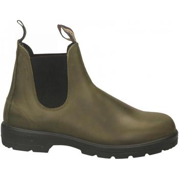 Schuhe Herren Boots Blundstone BLUNDSTONE COLLECTION dark-green