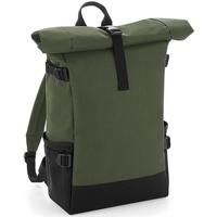 Taschen Rucksäcke Bagbase BG858 Olivgrün/Schwarz