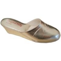 Schuhe Damen Pantoffel Milly MILLY3000oro nero