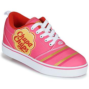Schuhe Mädchen Rollschuhe Heelys CHUPA CHUPS PRO 20 Rose / Weiss