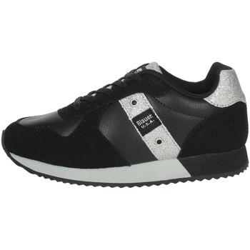 Schuhe Mädchen Sneaker Low Blauer LILLI02 Schwarz