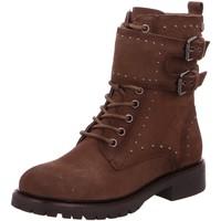 Schuhe Damen Boots Carmela Stiefeletten 67414 braun