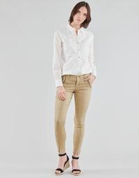 Kleidung Damen 5-Pocket-Hosen Cream HOLLY TWILL PANT Beige
