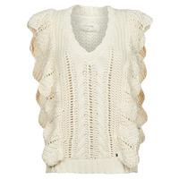 Kleidung Damen Pullover Cream ANNOLINA KNIT SLOPOVER Weiss