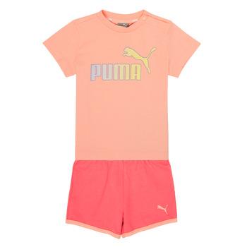 Kleidung Mädchen Kleider & Outfits Puma BB SET ABRI Rose