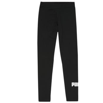 Kleidung Mädchen Leggings Puma ESS LEGGING Schwarz